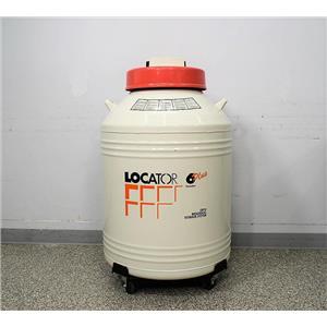 Thermo Thermolyne Locator 6 Plus Cryostorage Tank with Liquid Nitrogen Monitor