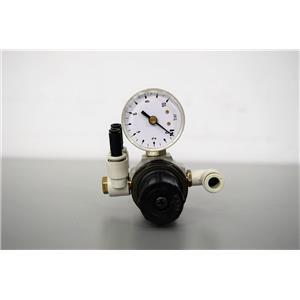 SMC EAR111 –F01 Pneumatic Pressure Regulator with SMC 1-10 Gauge Warranty