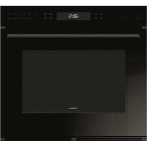 """NIB Wolf E Series 30"""" Dual Convection Oven Single Electric Wall Oven SO30CEBTH"""