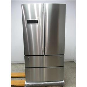 """Bosch 800 series 36"""" 20.7 Stainless 4 Door French Door Refrigerator B21CL80SNS"""