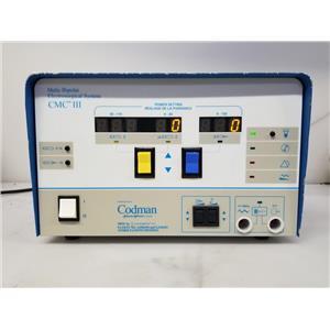 Codman Malis CMC III w/ Irrigation Module 1000 & Footswitch