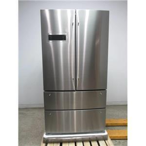 """Bosch 800 Series 36"""" SS SuperCool 4-Door French Door Refrigerator B21CL80SNS"""