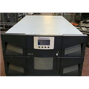 Quantum Scalar i80 LTO-5 Half Height Tape Library 3-05281-01 w 80 Slot License