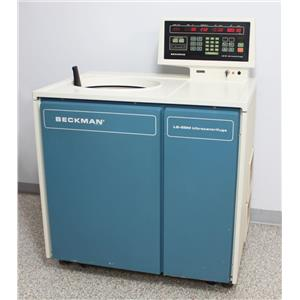 Beckman L8-55MR Ultracentrifuge Refrigerated Floor Centrifuge 344192 Warranty