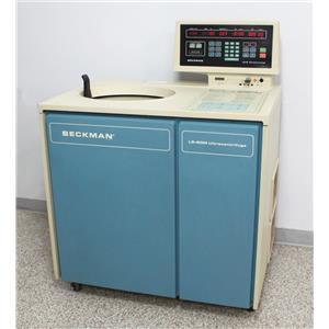 Beckman L8-80MR Ultracentrifuge Refrigerated Floor Centrifuge 344200 Warranty