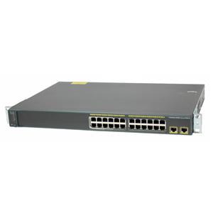 Cisco WS-C2960-24LT-L Catalyst 2960 24 Port 10/100 2 Gig Uplinks Ethernet Switch