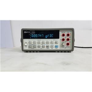 HP 34401A DIGITAL MULTIMETER WITH 6 DIGIT DISPLAY