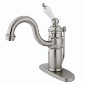 Kingston Bathroom Sink Faucet Satin Nickel KB1408PL