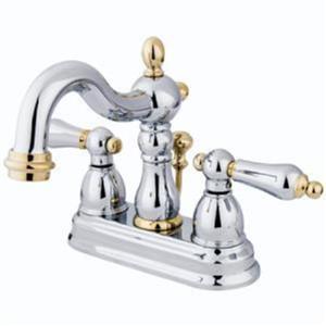 Kingston Bathroom Sink Faucet Polished Chrome KB1604AL