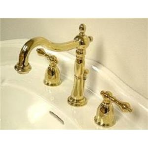Kingston Bathroom Sink Faucet Polished Brass KB1972AL