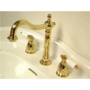 Kingston Bathroom Sink Faucet Polished Brass KB1972PL