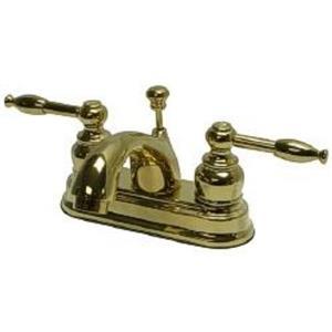 Kingston Bathroom Sink Faucet Polished Brass KB2602KL