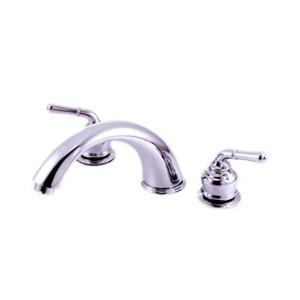 Kingston Brass Bathroom Roman Tub Faucet Polished Chrome KB361