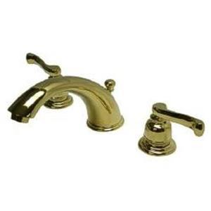 Kingston Brass KB8962FL Royale Widespread Bathroom Sink Faucet - PVD Polished Brass