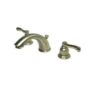 Kingston Brass KB8968FL Royale Widespread Bathroom Sink Faucet - Satin Nickel