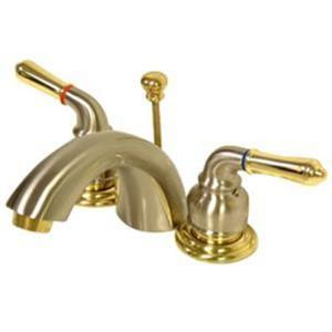 Kingston Bathroom Sink Faucet Satin Nickel KB959