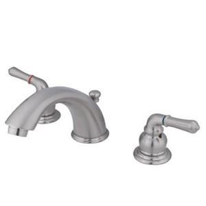 Kingston Brass KB968 Magellan Widespread Faucet - Satin Nickel