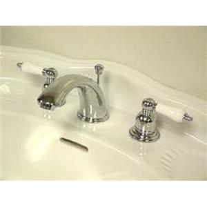 Kingston Brass KB971B Victorian Widespread Bathroom Sink Faucet - Polished Chrome