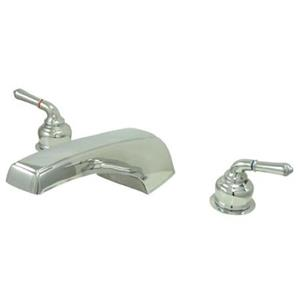 Kingston Brass KC381 Magellan Roman Tub Filler - Chrome