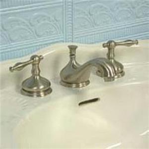 "Kingston Brass KS1168NL Heritage 8"" -16"" Widespread Bathroom Sink Faucet - Satin Nickel"