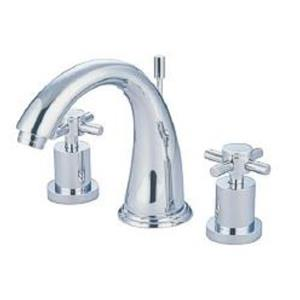 "Kingston Brass KS2961DX Concord 8"" -16"" Widespread Bathroom Sink Faucet - Polished Chrome"