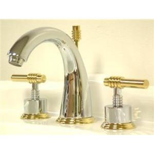 Kingston Bathroom Sink Faucet Polished Chrome KS2964Ml