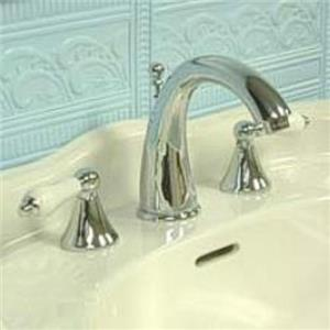 "Kingston Brass KS2971PL Naples 8"" -16"" Widespread Bathroom Sink Faucet - Polished Chrome"