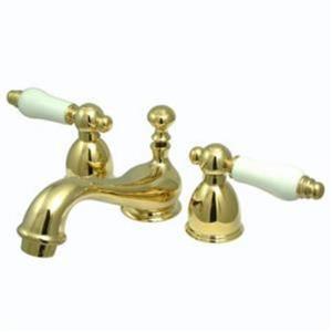 Kingston Bathroom Sink Faucet Polished Brass KS3952PL