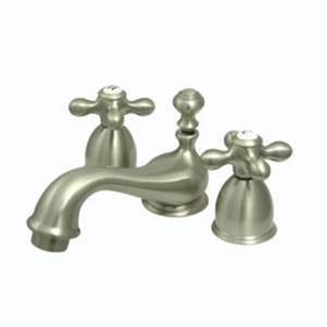 Kingston Bathroom Sink Faucet Satin Nickel KS3958AX