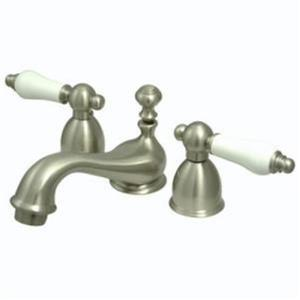 Kingston Bathroom Sink Faucet Satin Nickel KS3958PL