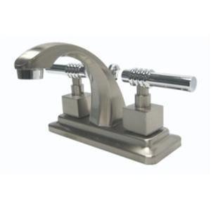 Kingston Bathroom Sink Faucet Polished Nickel KS4647Ql