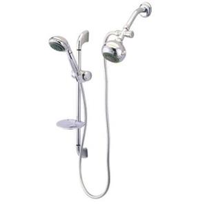 Kingston Brass Shower Combo-Polished Chrome KSK2521SG1