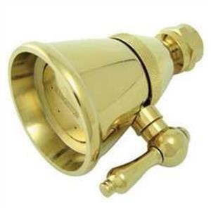 Kingston Brass K132C2 Victorian Adjustable Shower Head, Polished Brass
