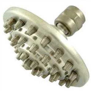 "Kingston Brass Model# K204A8 4"" Three Tiers Brass Shower Head - Satin Nickel"