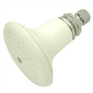 Kingston Brass Model# P50C Victorian Colonial Ceramic Shower Head - Polished Chrome