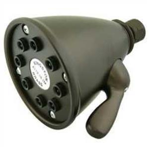 Kingston Brass Model# K139A5 Magellan Adjustable-Spray Solid Brass Shower Head - Oil Rubbed Bronze