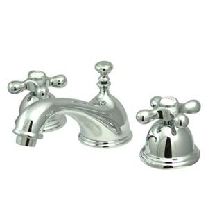 "Kingston Brass Polished Chrome 8""-16"" Widespread Lavatory Faucet - KS3961AX"