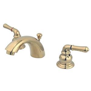 Kingston Brass KB952 Magellan Mini Widespread Faucet - Polished Brass