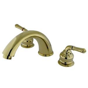 Kingston Brass Bathroom Roman Tub Faucet Polished Brass - Model KB362