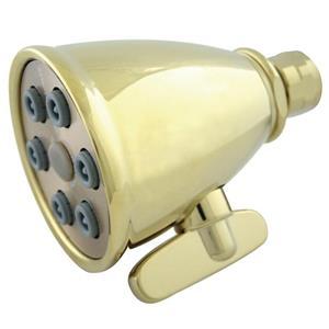 Kingston Brass Model# K138A2 Magellan Adjustable-Spray Solid Brass Shower Head - PVD Polished Brass