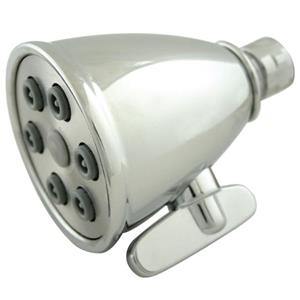Kingston Brass Model# K138A1 Magellan Adjustable-Spray Solid Brass Shower Head - Polished Chrome