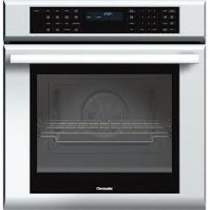 """Thermador 27"""" 4.2 cu ft SoftLight 13 Modes Single Electric Wall Oven SS MED271JS"""