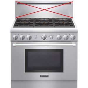 """Thermador Pro Harmony 36"""" Pro-Style liquid propane Gas Stainless Range PRL366GH"""