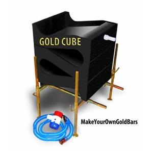 Gold Cube Deluxe 3-Stack Recovery System-Concentrator-Mining-Black Sands-Sluice