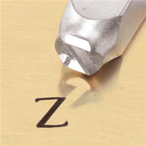 """""""Greek-Zeta-Sign"""" 1/4""""-6mm-Large Stamp-Punch-Metal-Steel-Gold & Silver Bars"""