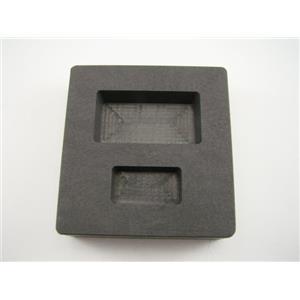 1 oz & 5 oz Gold Bar High Density Graphite Mold Combo Loaf - Silver  2 Cavity