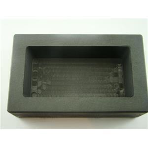 2 Kilo Gold Bar Graphite Ingot Mold Silver-Copper-Bar Loaf Style 2000 Grams