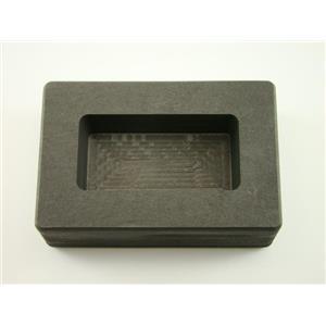 10 oz Gold Graphite Ingot Mold 5 oz Silver Bar Loaf Scrap - Copper - Aluminum