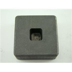 1/4 oz Gold 1/8 oz Silver Bar High Density Graphite Mold Tall Cube (G34)