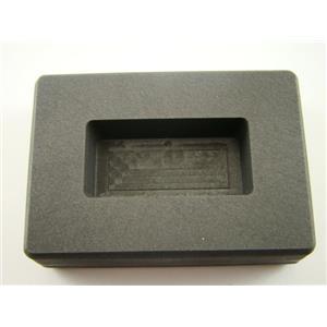 100 Gram Gold Bar High Density Graphite Ingot Mold - Copper- 50 Gram Silver Bar